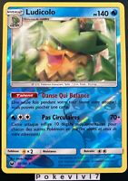 Carte Pokemon LUDICOLO 38/168 HOLO Reverse Soleil et Lune 7 SL7 FR NEUF