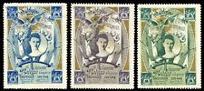 Netherlands Poster Stamp - 1898 Coronation of Queen Wilhelmina - Type 2 Set of 3