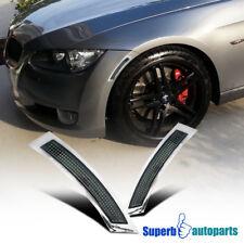 2007-2009 BMW E92 E93 328 335 3-Series Side Marker Turn Signal Lights Smoke