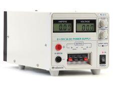 Velleman PS613U LABORATORY POWER SUPPLY (0-30VDC + 5VDC + 12VDC)WITH LCD DISPLAY