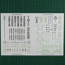 Necron Decals Transfers sheet Abziehbilder  Warhammer 40K Bitz  6060