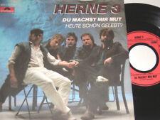 """7"""" - Herne 3 Du machst mir Mut & Heute schon gelebt - 1985 MINT # 1361"""