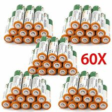 60 x AA LR06 3000mAh 1.2V NI-MH rechargeable battery CELL/RC 2A BTY Green US EV