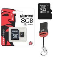 Speicherkarte Kingston Micro SD Karte 8GB Für Samsung Galaxy Tab 4 10.1