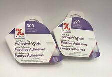 New listing Xyron High Tack Adhesive Dots Lot Of 2 New In Box 300 3/16 In Dots