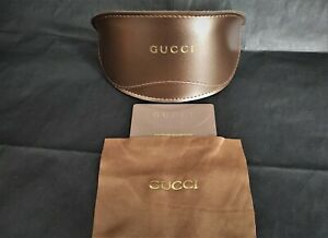 GUCCI Glasses/Sunglasses Case with Cleaning Cloth