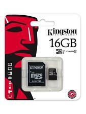 Kingston SDC10G2 16 GB, Class 10 (10MB/s) - MicroSDHC Card