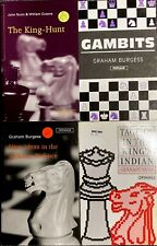 4 Books Chess Openings King's Indian Gambits Alekhine Defense King-Hunt