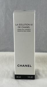 Chanel La Solution 10 De Chanel Sensitive Skin Cream 1 Fl Oz / 30 mL NEW IN BOX