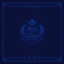 AOA-[ANGEL'S KNOCK] 1st Album B Ver CD+64p Photo Book+2p Card+7p Post Card K-POP