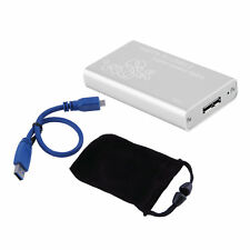 Mini mSATA to USB 3.0 SSD Hard Disk Box External Enclosure Case with Cable EK