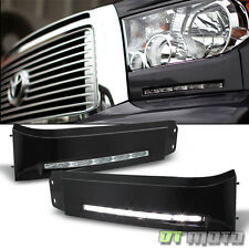 2007-2013 Toyota Tundra LED Bumper Built-In DRL Fog Lights Driving Lamps Xsp-X