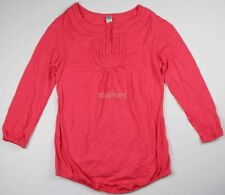 New Old Navy Maternity Clothes Pink Top Shirt Tunic Women's NWOT Size Medium