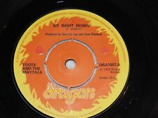 Toots And The Maytals - Sit Right Down - UK original -  Excellent