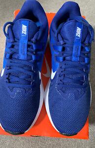 Men's Running Shoe  Nike Downshifter 9 Size UK 6 Blue / White New In box