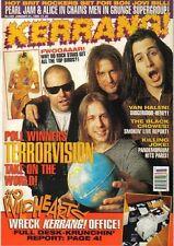 Terrorvision on Kerrang Cover 1995            Axl Rose    Van Halen