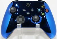 Microsoft Xbox One Series X/S Modded Controller-Chrome Blue with Blue LED