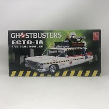 AMT Ghostbusters Ecto-1A Plastic Model Kit New # AMT750/12 Open Box/ Unused