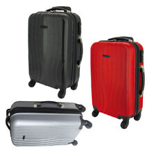 Maletas y equipaje negro rígido con 4 ruedas