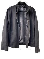 EXPRESS Men's M Wool Blend Black Coat Jacket