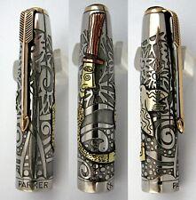 "Parker 51 Customized ""Magician"" Fountain Pen Cap in Mixed Materials (CM)"