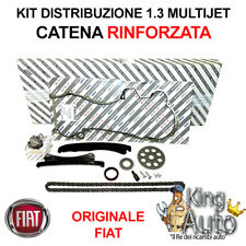 KIT DISTRIBUZIONE CATENA RINFORZATA ORIGINALE FIAT GRANDE PUNTO 1.3 MJET 90CV