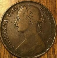 1884 UK GB GREAT BRITAIN ONE PENNY