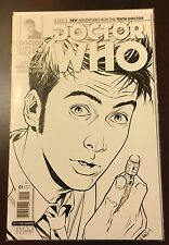 Doctor Who 10th Tenth Doctor #1 Cover D 1:25 Incentive Titan Comic RARE Year 1