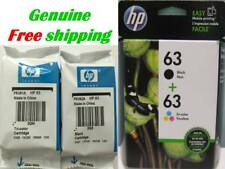 NEW HP 63 Black & Tri-color Original Cartridges-HP3632 HP4511 HP3833 printers