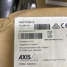 New Listingaxis P3228 Lv Pn 0887 001 8 Megapixel Network Camera Dome