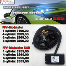 E85 bioethanol conversion - FLEX FUEL TUNING KIT - FFV Modulator 6 cylinder
