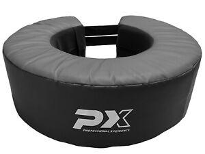 PX Boxsack-Ring schwarz-grau -  Uppercuts, Knietechniken