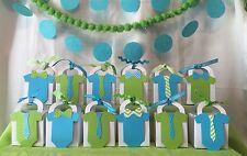 Little man Gentlemen Baby Shower Thank You favor boxes ~ Customize