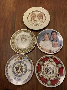Princess Diana & Prince Charles Plates