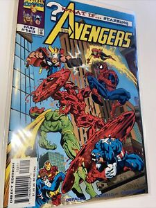 What If Carnage Possessed Silver Surfer #108 Marvel Comic Book 1998 High Grade