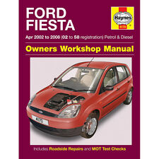 Ford Fiesta 1.25 1.3 1.4 1.6 Petrol 1.4 1.6 Dsl 02-08 (02-58 Reg) Haynes Manual