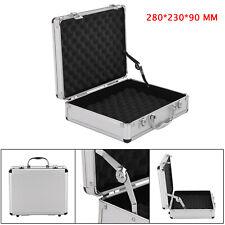 Small Hard Aluminium Flight Case Tool Storage Box Camera Photography Foam