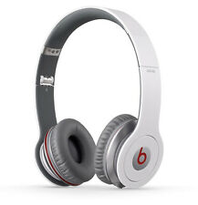 Original Beats by Dr. Dre solo HD on-ear auriculares Headphones blanco OVP