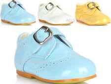 Chaussures large boucle pour garçon de 2 à 16 ans
