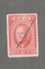 1947-150 Spanish Antilles Caribbean 2c Franklin D. Roosevelt Used Stamp