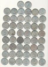 50 monnaies de 5 francs semeuse