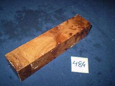 Rüster Maser Ulmenmaser Schmuckholz  Edelholz  150 x 33 x 33 mm    Nr. 484