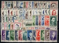 P131862/ FRANCE STAMPS / LOT 1956 - 1959 MINT MNH & MH - CV 333 $