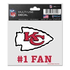 Kansas City Chiefs Wincraft NFL #1 Fan Logo Decal FREE SHIP!