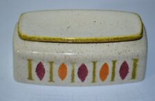 Vintage Red Wing Pepe MCM Pattern - Replacement Butter Dish Cover/Lid ONLY
