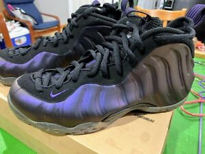Nike Aire Foamposite One Eggplant SZ:8.5 DMP 1 2 3 4 5 11 6 Jordan supreme Fire