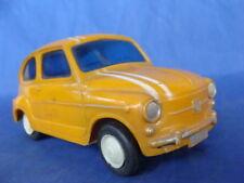 Fiat 600 corsa Albacete plast scala 1/24 old plastic toys Seat Zastava 750
