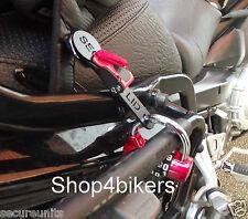 Cerradura de casco de cara abierta hebilla de liberación rápida Sujetador Motocicleta Cruiser Personalizado