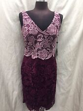 ADRIANNA PAPELL DRESS /NEW WITH TAG/SIZE 22W/RETAIL$249/LENGTH 45'/LACE DRESS