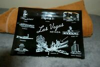 Vintage Mint casino's  glass ashtray, Las Vegas NV, Hotel's On Smoked Dark Glass
